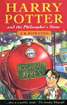 Harry Potter and the Philosopher's Stone by J. K. Rowling book cover