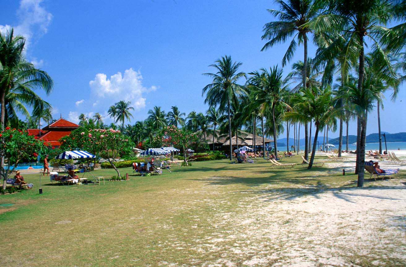 travel and tourisem: Tourism on the island of Langkawi in Malaysia