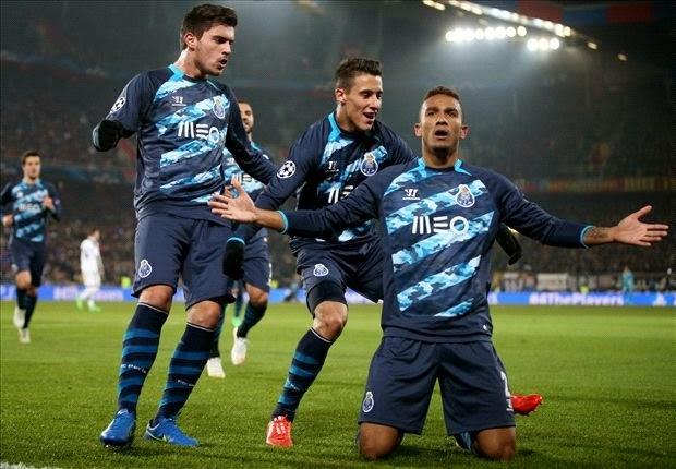 Liga Champions : FC Porto Hajar FC Basel 4 Gol Tanpa Balas