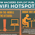The Risks of Free Wifi Hotspot [Infographic]