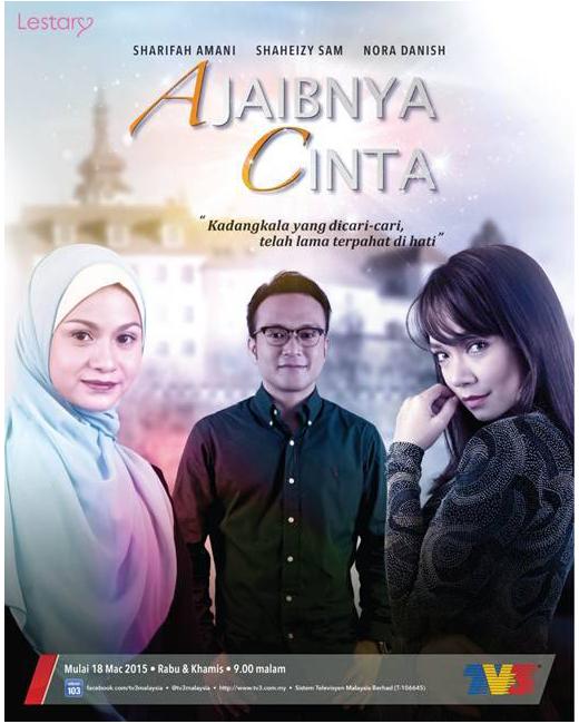 Senarai Lagu Tema OST Ajaibnya Cinta TV3 Ajaibnya Cinta TV3 2015