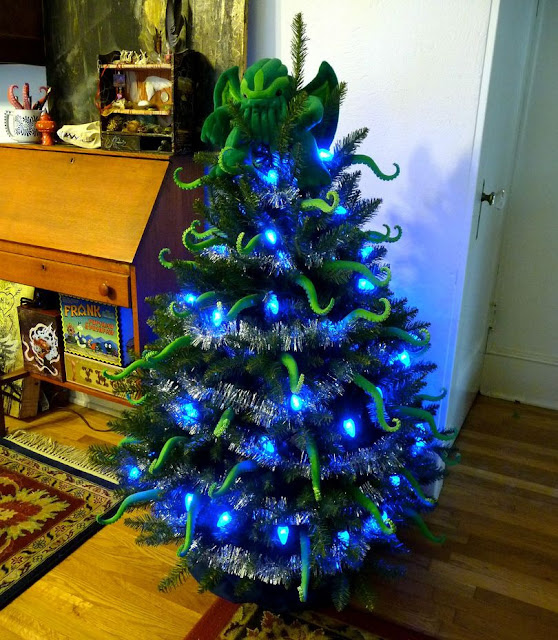 Árbol Navidad Cthulhu