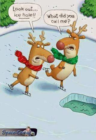 funny reindeer comics humor