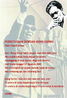 12 Puisi Indonesiaku Chairil Anwar