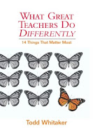 What great teachers do differently book cover