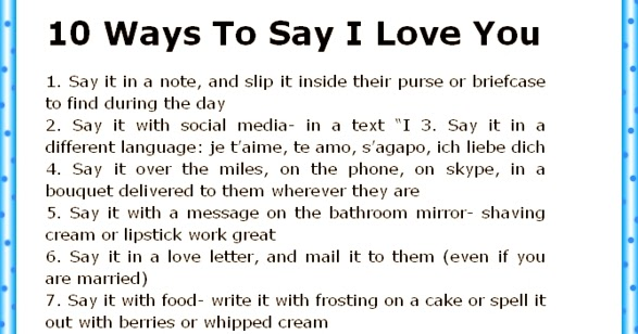 cute ways to tell him you love him over text 9565279