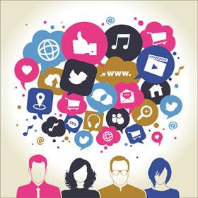 sosyal medya insanlar alışveriş
