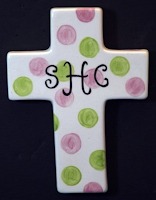 personalized cross for college girls