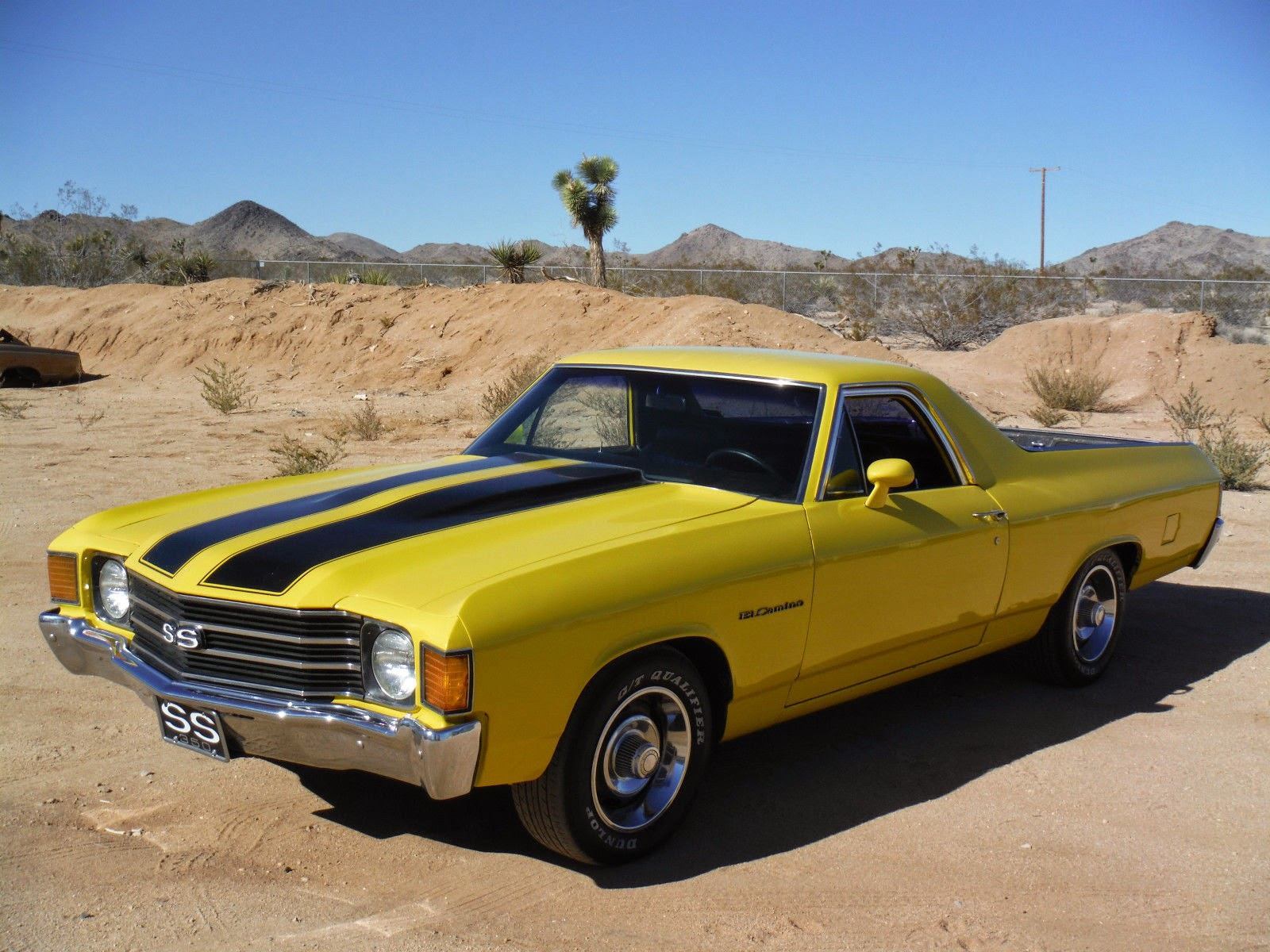 all american classic cars 1972 chevrolet el camino ss. Black Bedroom Furniture Sets. Home Design Ideas