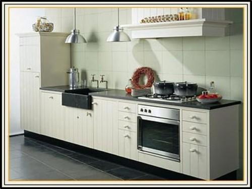 Cozinha americana tipo linear