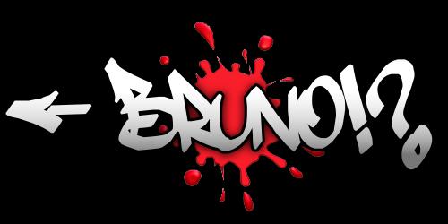 Nomes Em Graffiti Bruno