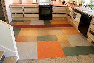 decoração com piso adesivo