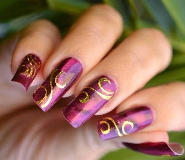 Модные узоры для ногтей