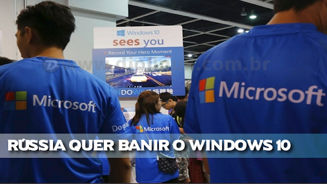 Windows proibido na Rússia