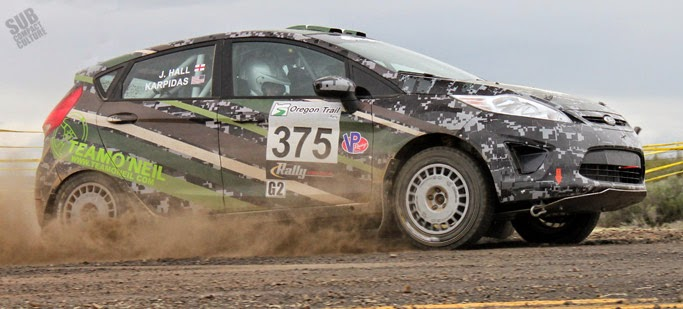 Team O'Neil Ford Fiesta at Oregon Trail Rally