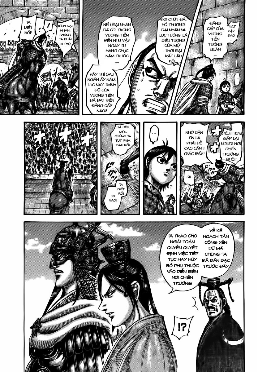 Kingdom – Vương Giả Thiên Hạ chap 499 Trang 10