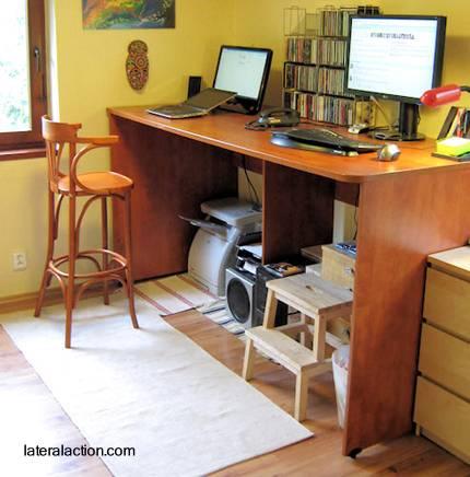 Arquitectura de casas escritorios para usar el ordenador - Escritorio para ordenador ...