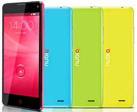 ZTE Nubia Z5S mini Android Murah RAM 2 GB Rp Sejutaan