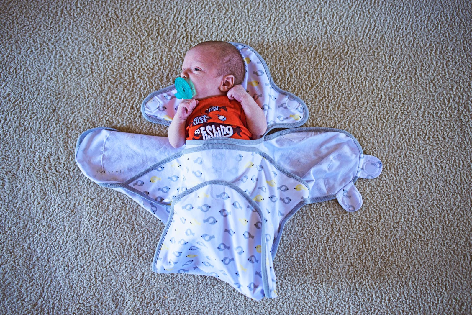 Just Born Deluxe Swaddle