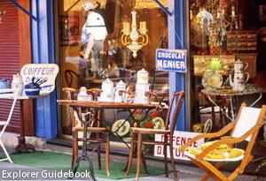 Porte de Vanves flea market Paris