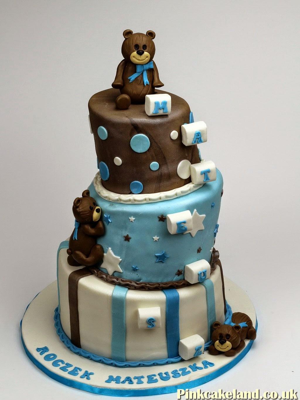 Teddies 1st Birthday Cake, Chelsea