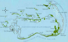 Mapa de Los Roques