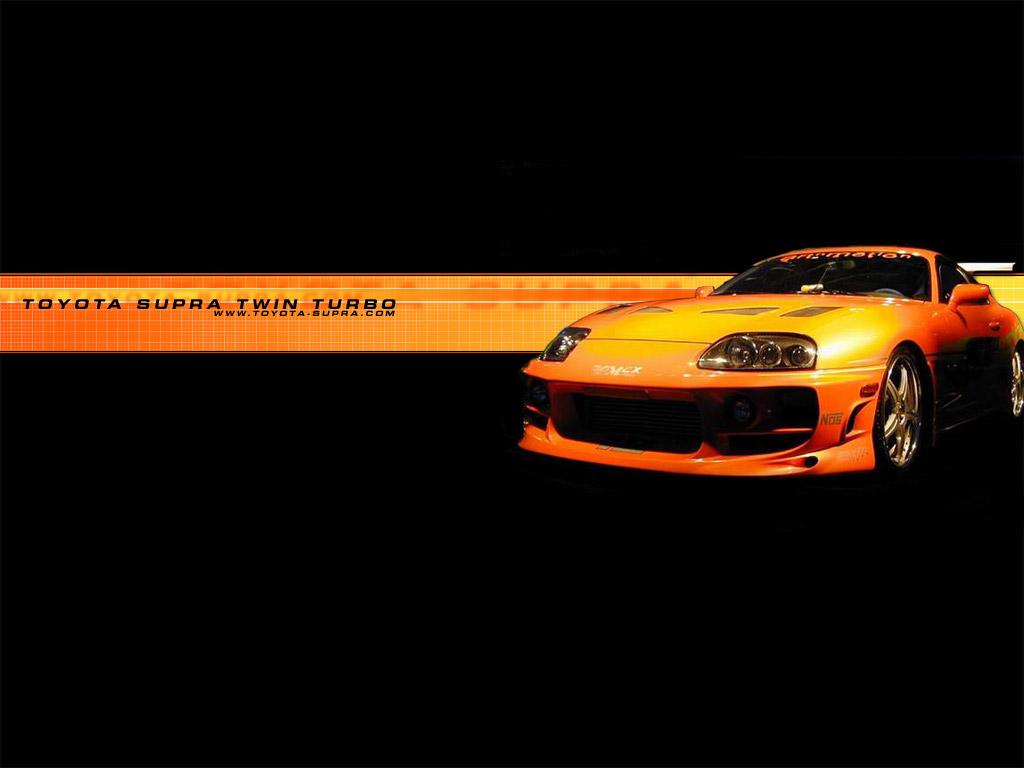 Animated Toyota Supra Wallpaper