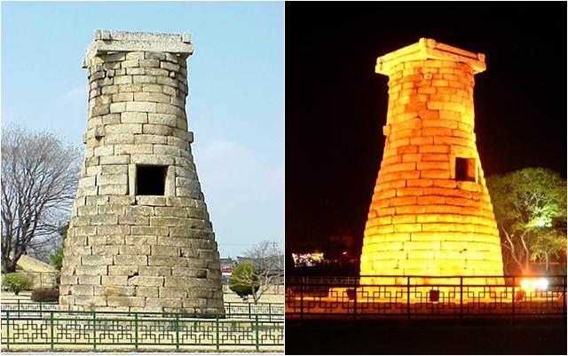 Monumen Observatorium Cheomseongdae