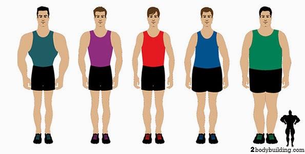 اجسام الرجال .. ماهو نوع جسمك
