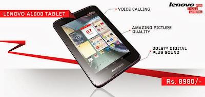 Review Tuntas Tablet Terbaik LENOVO A1000