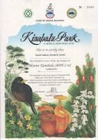Sijil Mendaki Gunung Kinabalu