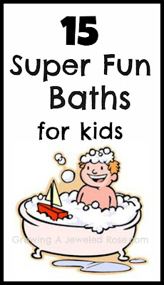fun baths for kids