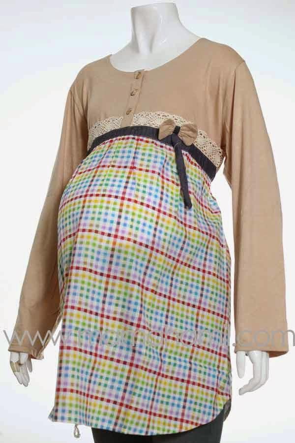 Model Baju Hamil Muslim Modern Terbaru