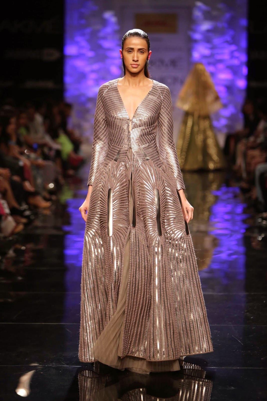 Amit Aggarwal's Collection at the Indian Fashion Show - Lakme Winter Festive 2014