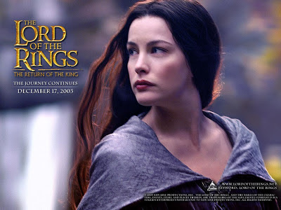 Beauty Lady Arwen on LOTR