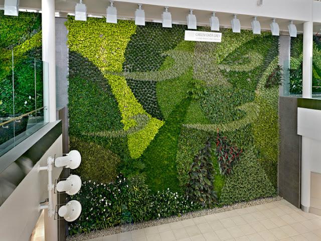Jardines verticales monterrey - Muros verdes verticales ...
