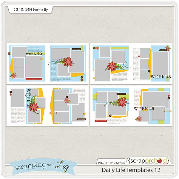 http://scraporchard.com/market/Daily-Life-Digital-Scrapbook-Templates-12.html