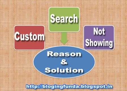 Custom search result suddenly stopped showing search result. what is the reason behind? BloggingFunda has diagnosed and implemented the solution to his own blog and it is successful.