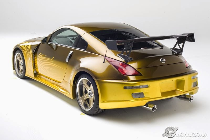 Nissan 350z oro a todo gas - Virtual diva fast and furious 4 ...