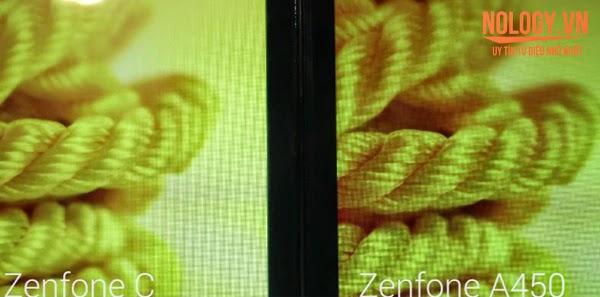 So sánh chi tiết Asus Zenfone C và Asus Zenfone 4 A450.
