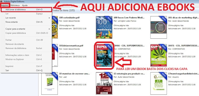 programa para ler ebooks leitor de ebooks pdf download