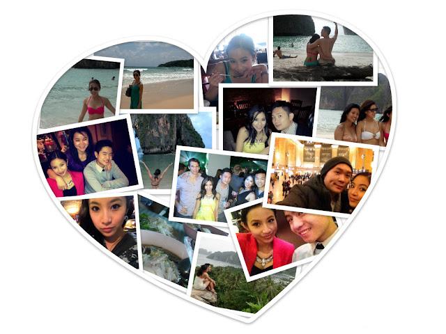 photo collage, wynzie chai, 2012, new years, friends