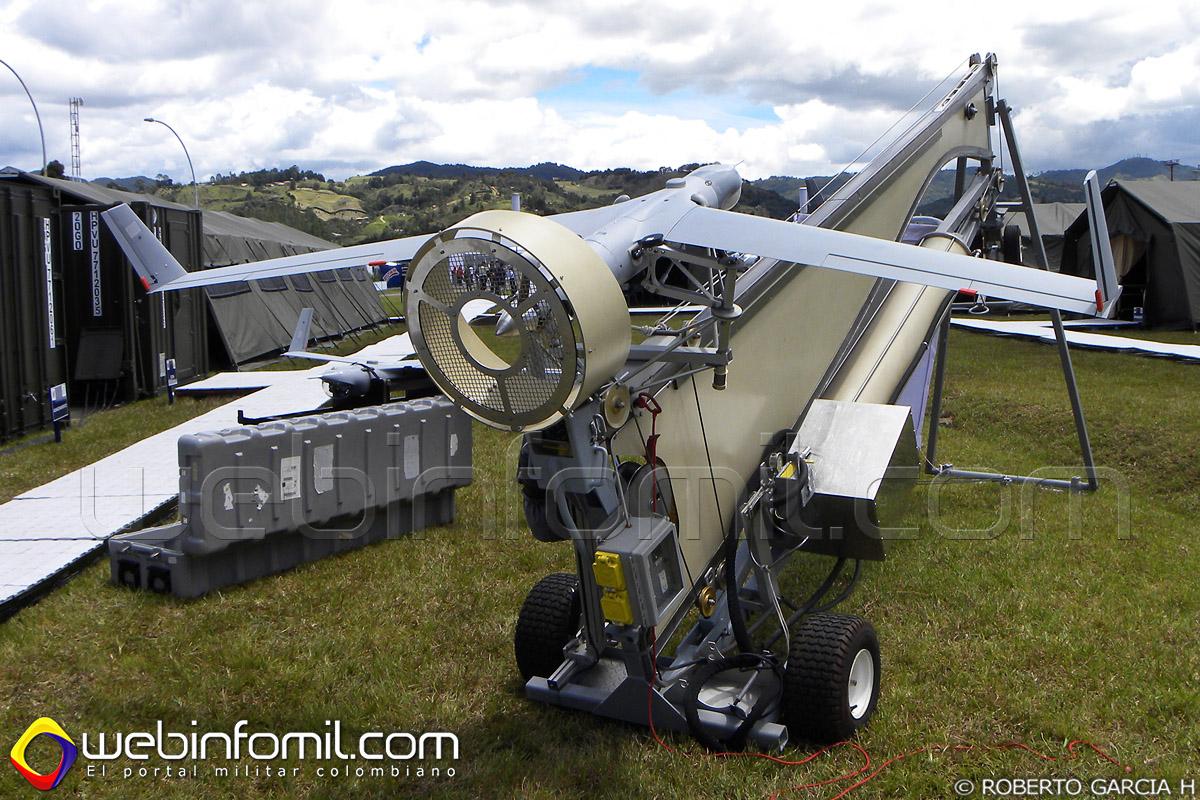 UAV Scaneagle de la Fuerza Aérea Colombiana Drone
