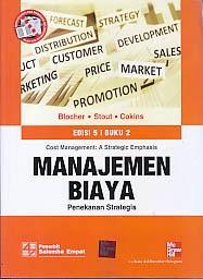toko buku rahma: buku MANAJEMEN BIAYA EDISI 5 BUKU 2,pengarang blocher, penerbit salemba empat