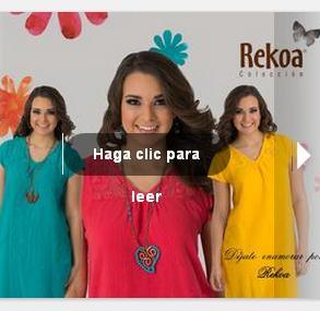 rekoa catalogo de moda primavera 2013