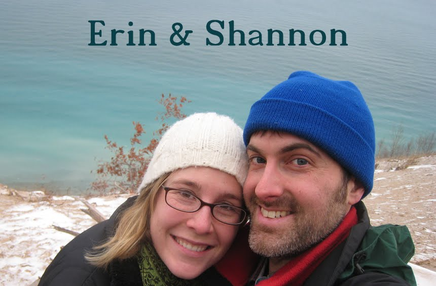 Shannon and Erin