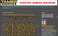 TAMER - HIGHTEX SEWING MACHINE