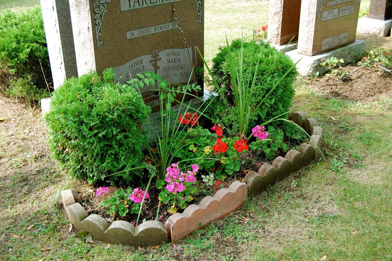 Astrid39s Garden Design Cemetery Plants