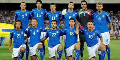 Skuad Italia di Euro 2012