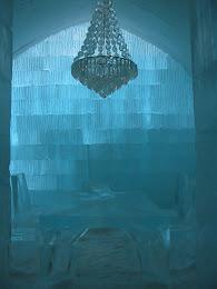 Ice Hotel interior